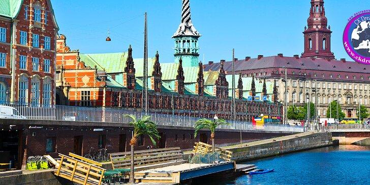 Spoznajte hlavné mesto Dánskeho kráľovstva Kodaň