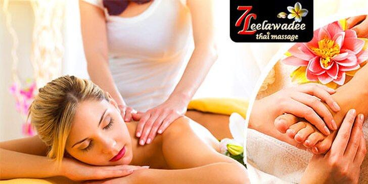 Pravá thajská masáž podľa výberu