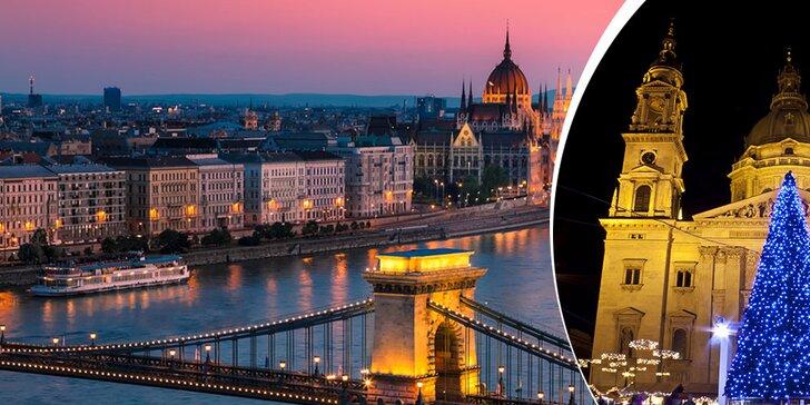 Spoznajte čarovnú vianočnú Budapešť