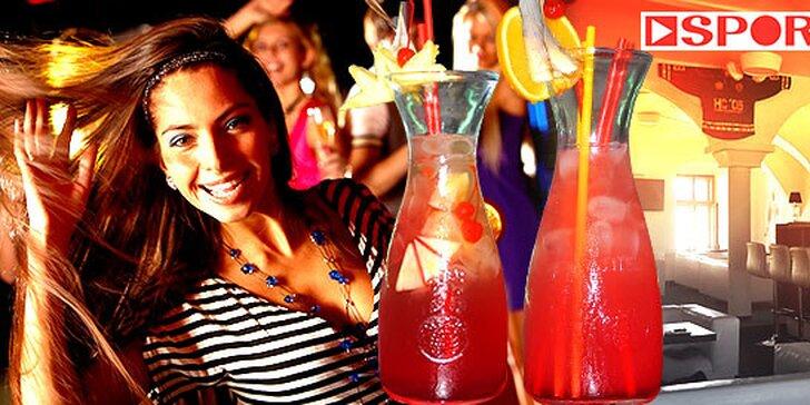 Miešané litrové drinky alebo Absolut Loď