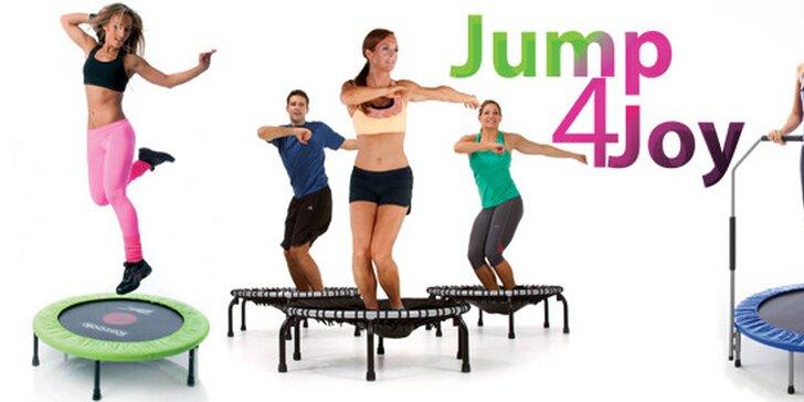 Jump4Joy - skupinové cvičenie jumping na trampolínach!
