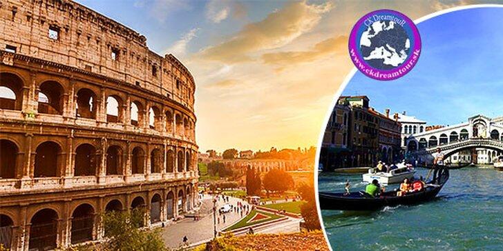 Staroveký Rím a romantické Benátky počas 5 dní