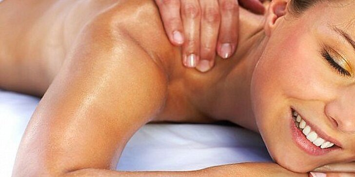 Novoročná akcia - 4 druhy masáže - 60 minút