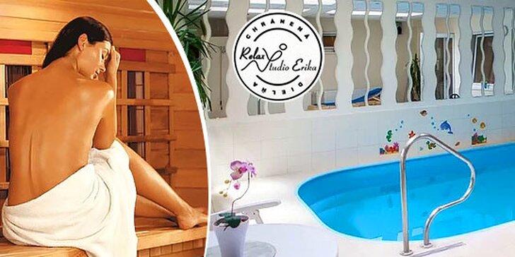 Fínska sauna pre ženu alebo pre 2 osoby v Relax Štúdiu Erika