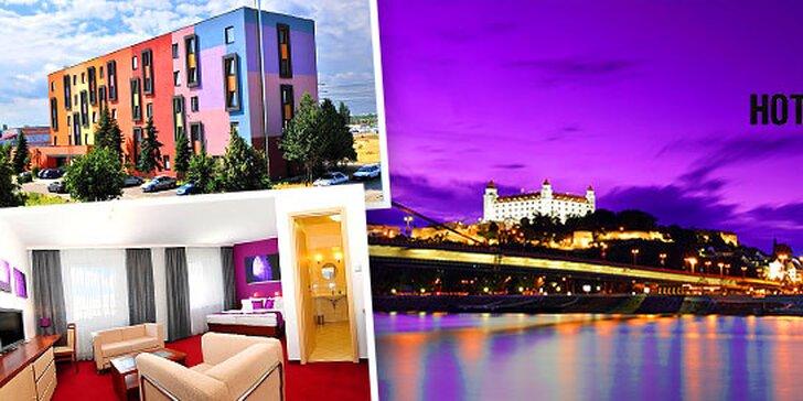 Ubytovanie pre 1 alebo 2 osoby na jednu noc v hoteli Color v Bratislave + dieťa do 3 rokov zdarma