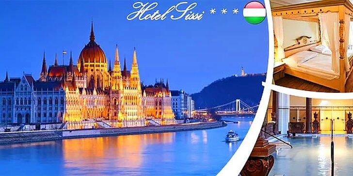 Zimný pobyt v obľúbenom Hoteli Sissi***, Budapešť