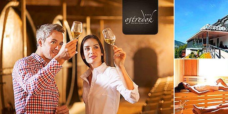 Pobyt pre dvoch s degustáciou vín v Hoteli Ostredok