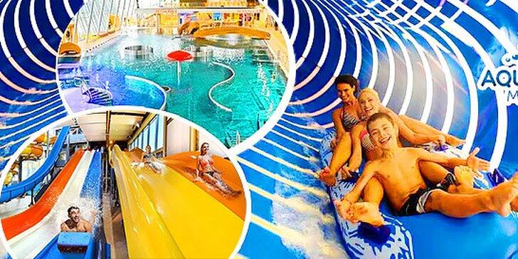 Až 2 dni v Aqualande Moravia s ubytovaním - najmodernejšie zábavné centrum na Morave!