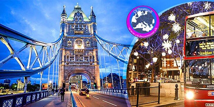 Adventný poznávací zájazd do Londýna