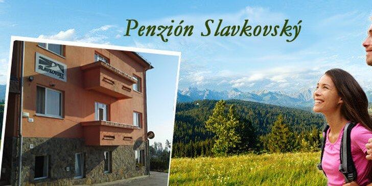 Ubytovanie v penzióne Slavkovský