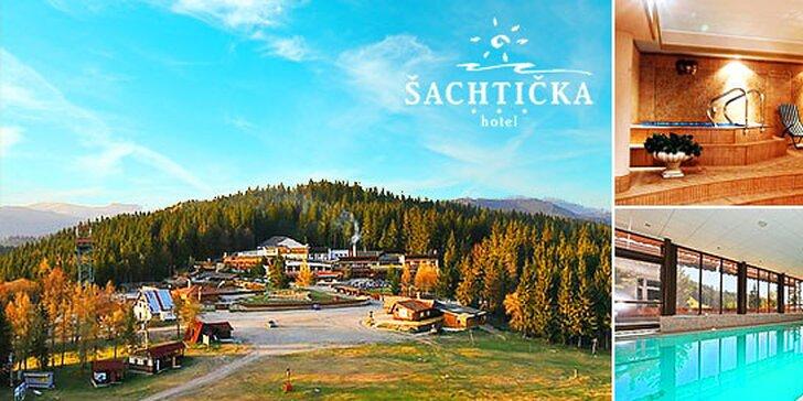 Relax v hoteli Šachtička*** v Nízkych Tatrách