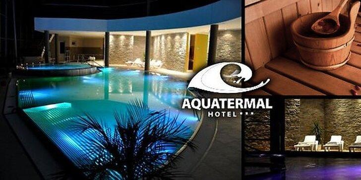 Zimný relax v špičkovom hoteli Aquatermal***