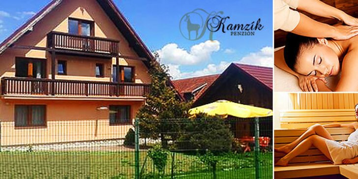 Dovolenka pod Tatrami v Penzióne Kamzík***, dieťa do 14 rokov zadarmo