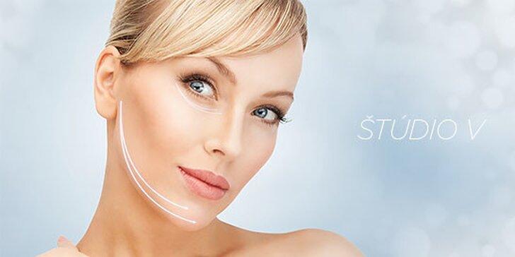 Kozmetické ošetrenie tváre podľa výberu