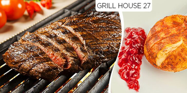 Steaky grilované na lávových kameňoch alebo hermelín za super cenu