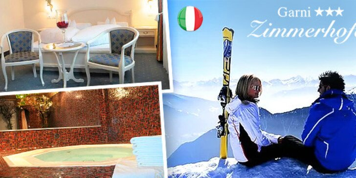 Lyžiarsky pobyt pre dvoch v južnom Tirolsku, Taliansko