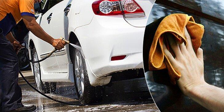 Prémiové umytie exteriéru vozidla