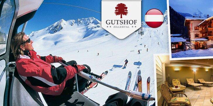 Aktívna lyžiarska dovolenka v Tirolsku na 3, 4 alebo 6 dní pre 2 nabitá službami