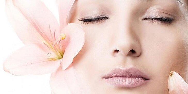 60 minútové ošetrenie pleti s masážou tváre