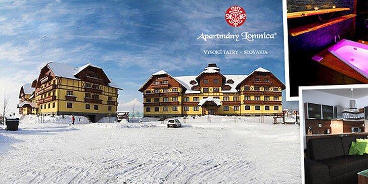Luxusné apartmány vo Vysokých Tatrách