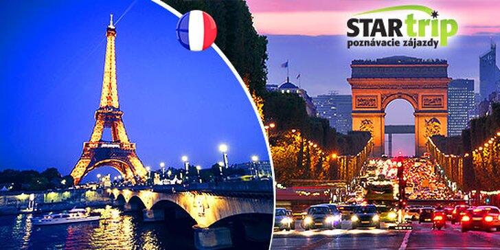 Adventný Paríž a Versailles s kvalitným hotelovým ubytovaním a skúseným sprievodcom