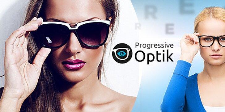 Odľahčené dioptrické alebo slnečné dioptrické sklá a zľava 35 % na okuliare