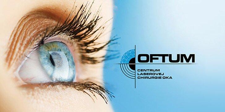 Najinovatívnejšia bezbolestná laserová operácia očí