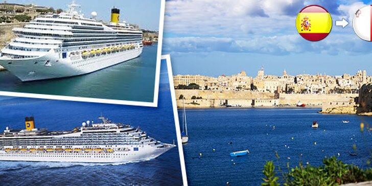 Luxusná plavba po slnečných mestách v Stredomorí