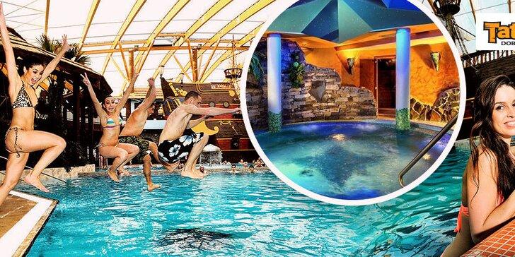 Celodenný vstup do Aquaparku TATRALANDIA = Tropical packet + Keltský saunový svet za zvýhodnenú cenu