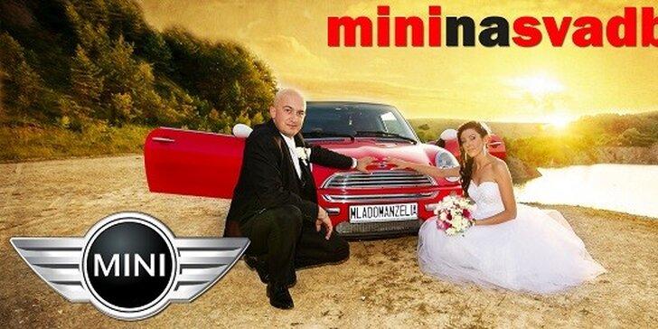 Štýlový Mini Cooper na Svadbu