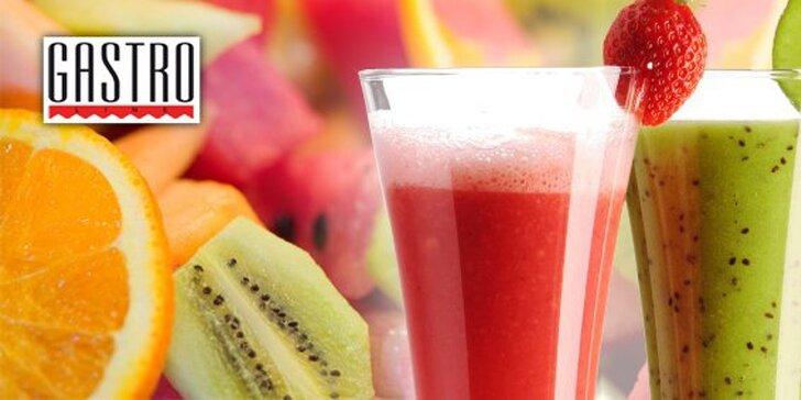 0,95 eur za 3dcl čerstvej ovocnej šťavy! Krása a zdravie v každom dúšku teraz so zľavou 50%