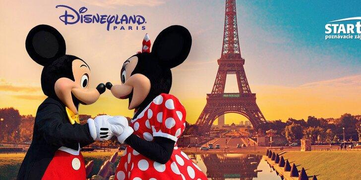 Prekrásny Paríž s návštevou Disneylandu