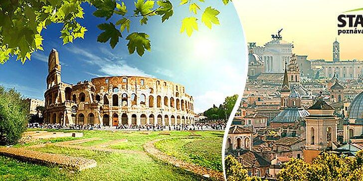 4 alebo 5-dňový zájazd do večného Ríma a Vatikánu