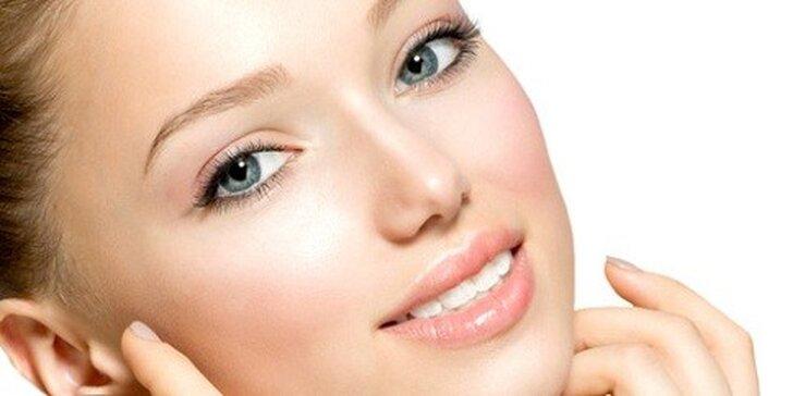 Profesionálne kozmetické ošetrenie: Peeling+maska+galvanizácia