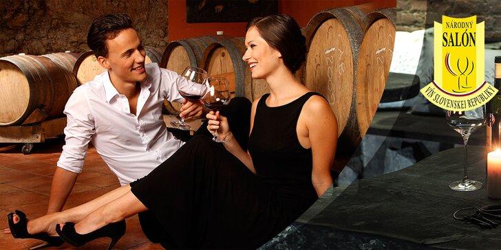 Degustácia 100 najlepších vín Slovenska pod klenbami Citadela Wine & Art Gallery aNárodného Salónu Vín SR!