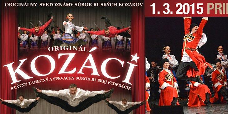 Zažite na vlastné oči legendárnych Kozákov, štátny súbor Ruskej federácie!