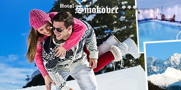 Zážitkový wellness pobyt v Hoteli*** Smokovec v Tatrách, dieťa do 12 rokov zdarma