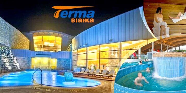 Vstúpte do termálneho parku Terma Bialka a jeho Zóny zábavy. Len 50 minút od Popradu!