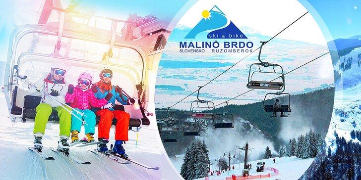 Celodenný skipas do lyžiarského strediska Malinô Brdo
