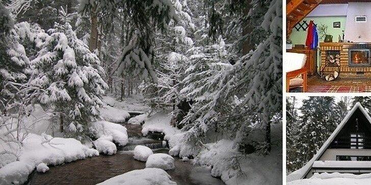 Lyžovačka v Nízkych Tatrách a oddych na Chate pri potoku Krpáčovo