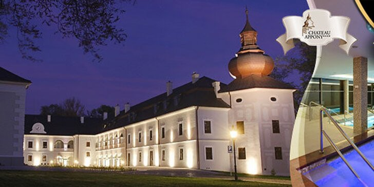 Luxusná romantika a wellness v Château Appony****