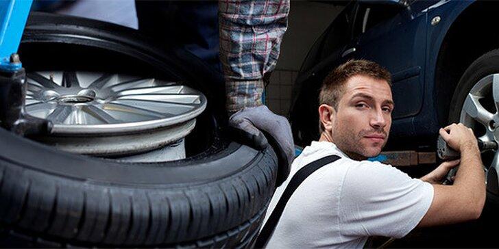 Kompletné prezutie a vyváženie kolies na aute