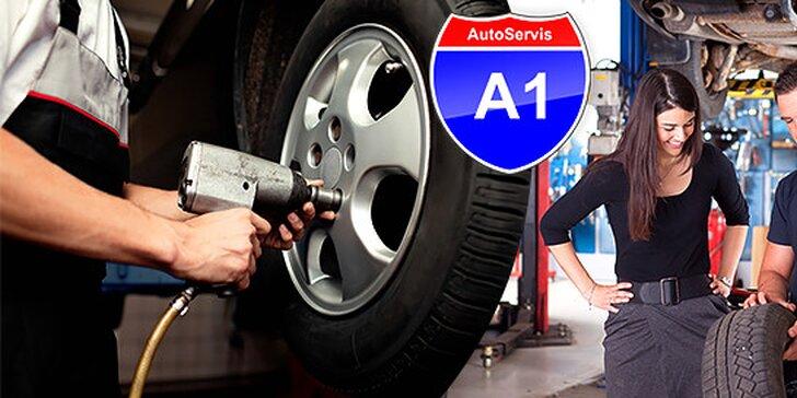 Kompletné prezutie a vyváženie pneumatík