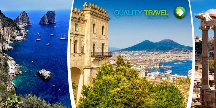 Krásy Talianska – Rím, Neapol, Vesuv, Pompeje