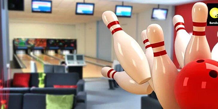 Hodinový prenájom bowlingovej dráhy
