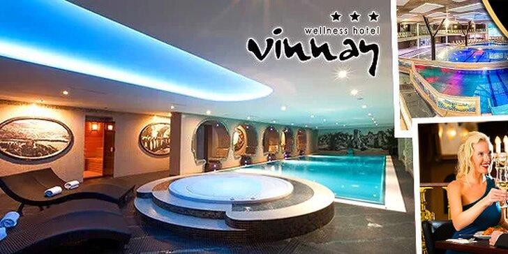 Wellness pobyt v hoteli VINNAY*** so vstupmi do ThermalParku Šírava