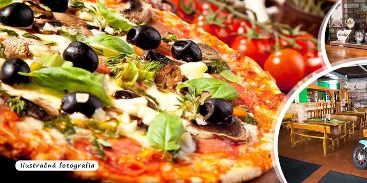 1 alebo 2 chutné pizze priamo do vášho domu