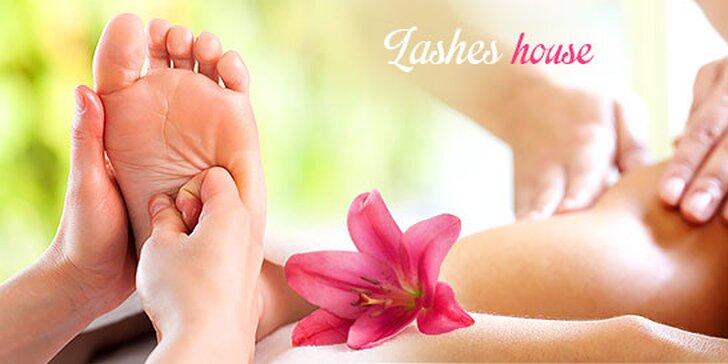 Masáž s thermo zábalom alebo masáž chodidiel