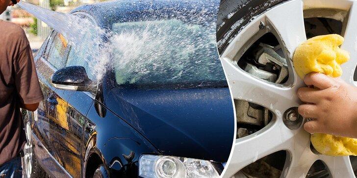 Ručné umytie vozidla s možnosťou voskovania nano voskom