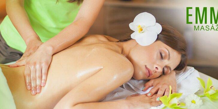 Uvoľnite sa so skvelou hodinovou masážou chrbta alebo celého tela